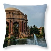 Palace Of Fine Arts -1 Throw Pillow