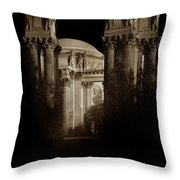 Palace Of Fine Arts Panama-pacific Exposition, San Francisco 1915 Throw Pillow