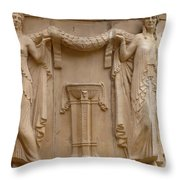 Palace Of Fine Arts Ladies Throw Pillow