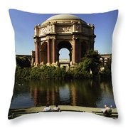 Palace Of Fine Arts Sf 2 Throw Pillow