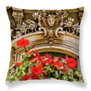 Palace Of Queluz Portugal Throw Pillow