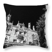 Palace Of Regaleira Throw Pillow