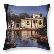 Palace On The Water  Throw Pillow