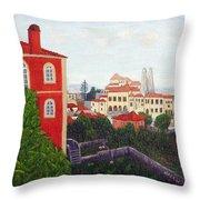 Palace - Sintra Throw Pillow