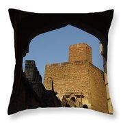 Palace Through The Arch Throw Pillow