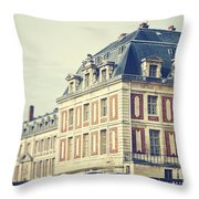 Palace Versailles Throw Pillow