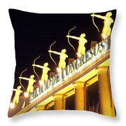 Palacio De Congresos Throw Pillow
