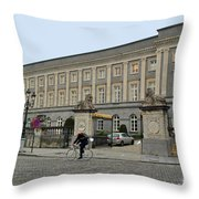 Palais Des Academies Throw Pillow