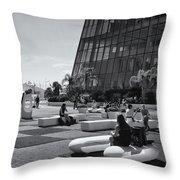 Palais Des Festivals Et Des Congres Throw Pillow
