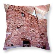 Palatki Site Throw Pillow