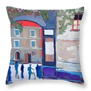 Palazzo Di Villafranca Throw Pillow