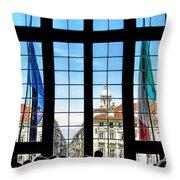 Palazzo Madama.torino Throw Pillow