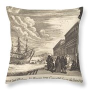 Palazzo Of Count Widman Throw Pillow