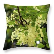 Pale And Delicate Throw Pillow
