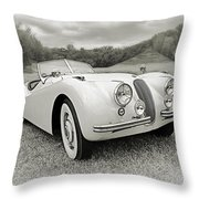 Pale Rider Throw Pillow