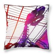 Paleo Rex Throw Pillow