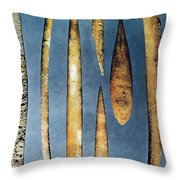 Paleolithic Spears Throw Pillow