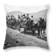 Palestine Colonists, 1920 Throw Pillow