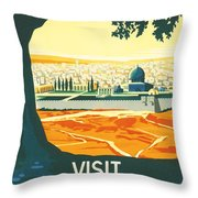 Palestine Throw Pillow by Georgia Fowler