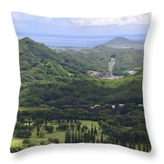Pali Across Throw Pillow