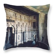 Palladio: Teatro Olimpico Throw Pillow