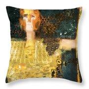 Pallas Athena Throw Pillow