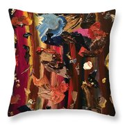 Pallette Cleansing Throw Pillow