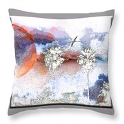 Palm Abstract Hollywood 2 Throw Pillow