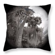 Palm Community Throw Pillow