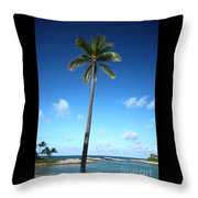 Palm Day Throw Pillow