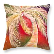 Palm Diggity Throw Pillow
