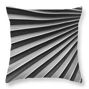 Palm Fan Pattern Throw Pillow