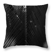 Palm Fronds Throw Pillow