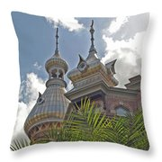 Palm Of The Dome Throw Pillow