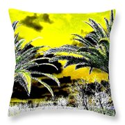 Palm Paradise   Throw Pillow