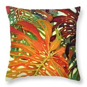 Palm Patterns 2 Throw Pillow