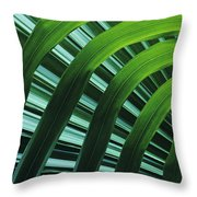 Palm Patterns Throw Pillow