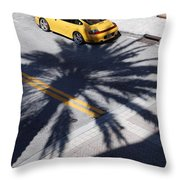 Palm Porsche Throw Pillow