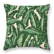 Palm Print Throw Pillow by Lauren Amelia Hughes