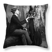 Palm-reading, C1910 Throw Pillow