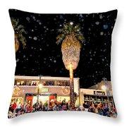 Palm Springs Holiday Parade 2015 Throw Pillow