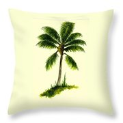 Palm Tree Number 1 Throw Pillow
