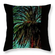 Palm Trees 40 Version 2 Throw Pillow