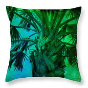 Palm Visions Throw Pillow