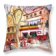 Palma De Mallorca 01 Throw Pillow