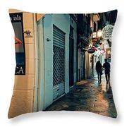 Palma De Mallorca Throw Pillow