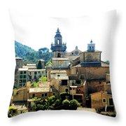 Palmas De Mallorca Throw Pillow