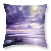 Palmetto Moonscape Throw Pillow