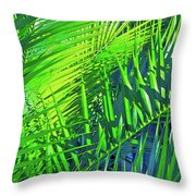 Palms 2 Throw Pillow