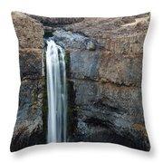 Palouse Falls 4 Throw Pillow
